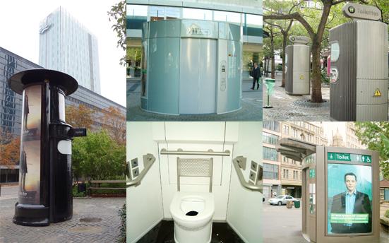 海外にある様々な有料のユニット型トイレ