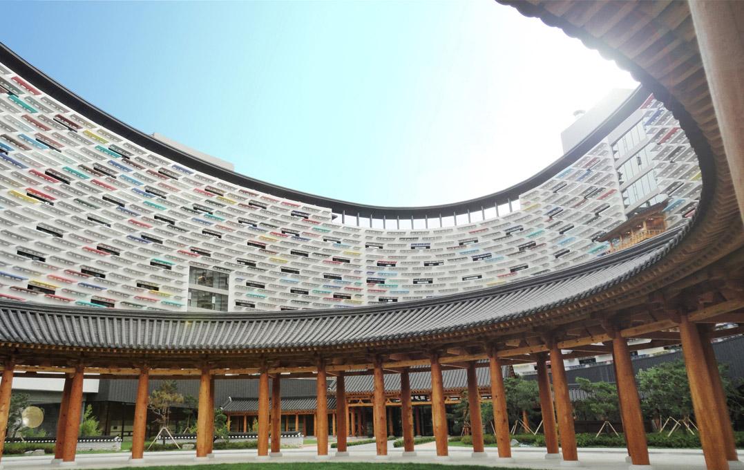 ユニバーサルデザインの監修を行った韓国ロッテのホテル