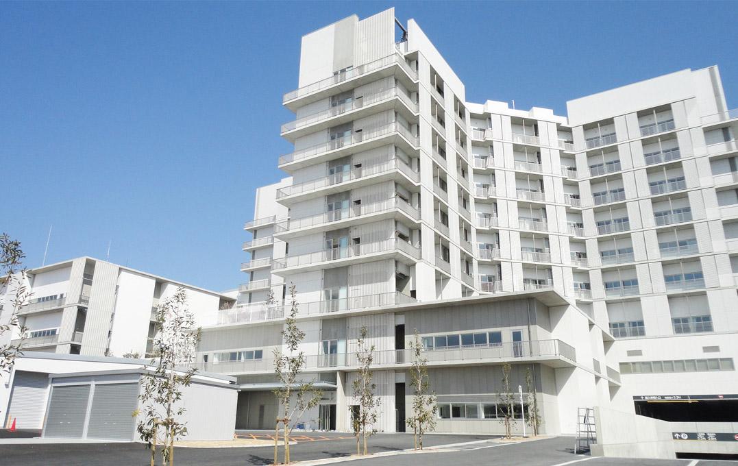 ユニバーサルデザインの監修を行った神戸中央市民病院