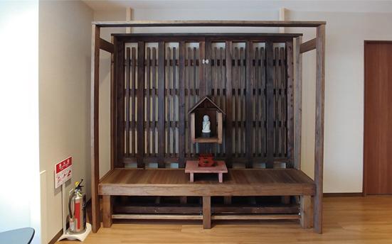 京都深草しみずの里に設置されたお地蔵さん