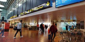 デンマークのカストラップ空港